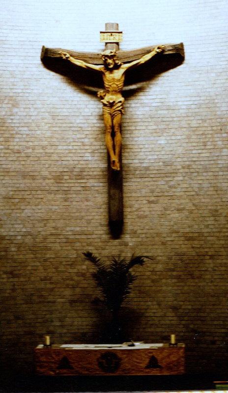 B. Rumold: Chorkreuz St. Martin, 1980