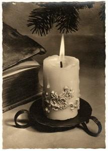 """""""Oberammergau, 20.12.1956 - Meine liebe Christl! Lieber Lothar! Die herzlichsten Grüße und Küsse sendet Euch zum diesjährigen Weihnachtsfest Euer Papa!"""""""